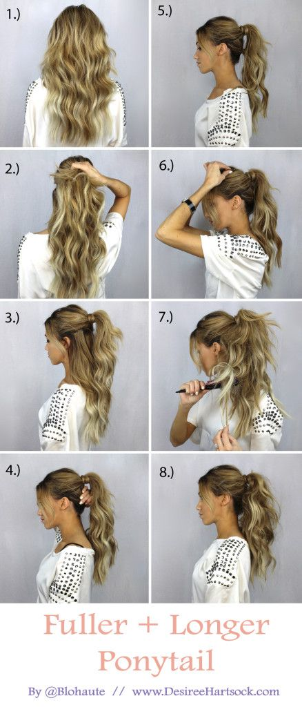 30 Simple Easy Ponytail Hairstyles For Lazy Girls Ponytail Ideas 2018