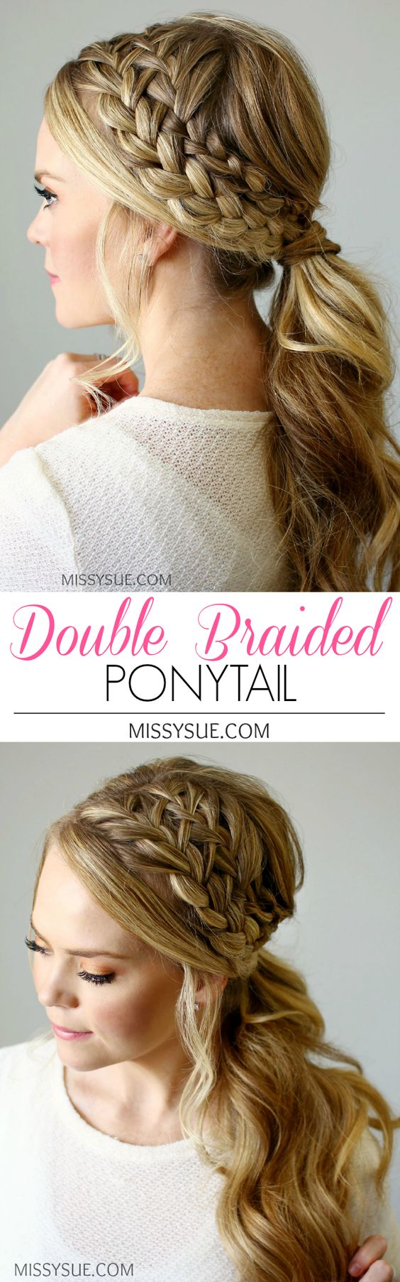 30 Simple Easy Ponytail Hairstyles for Lazy Girls - Ponytail Ideas ...