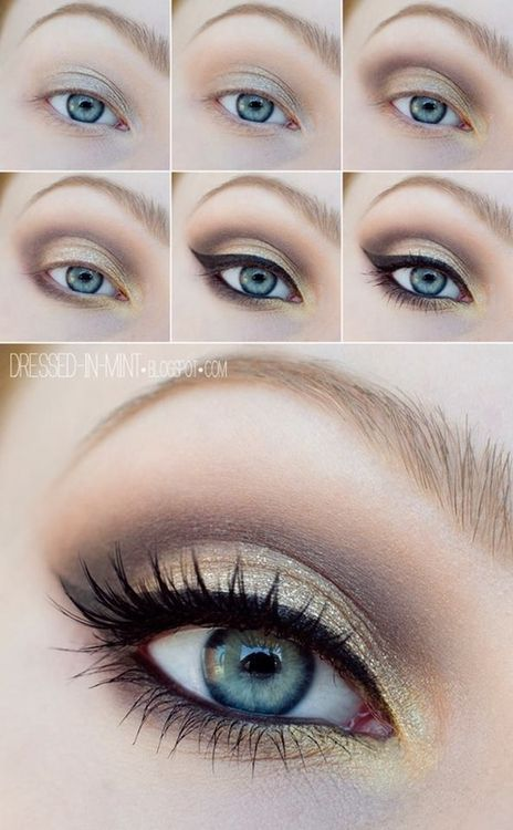 10 Quick & Easy Step By Step Smokey Eye Makeup Tutorials 2018