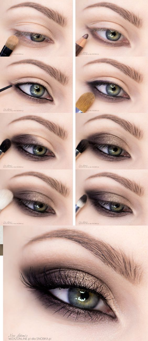 10 Quick Amp Easy Step By Step Smokey Eye Makeup Tutorials 2019