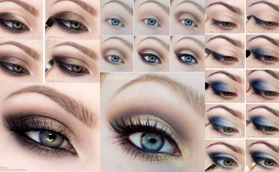 10 Quick Easy Step By Step Smokey Eye Makeup Tutorials 2019