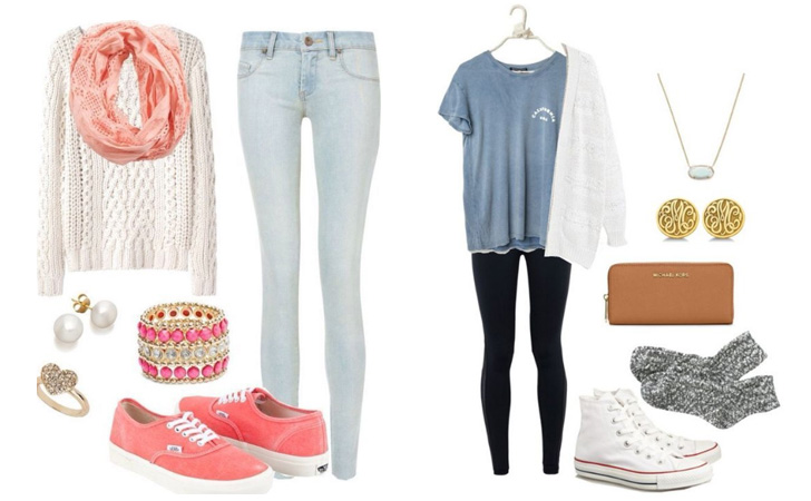 238571faf34a 30 Cute Outfit Ideas for Teen Girls 2019 – Teenage Outfits for School