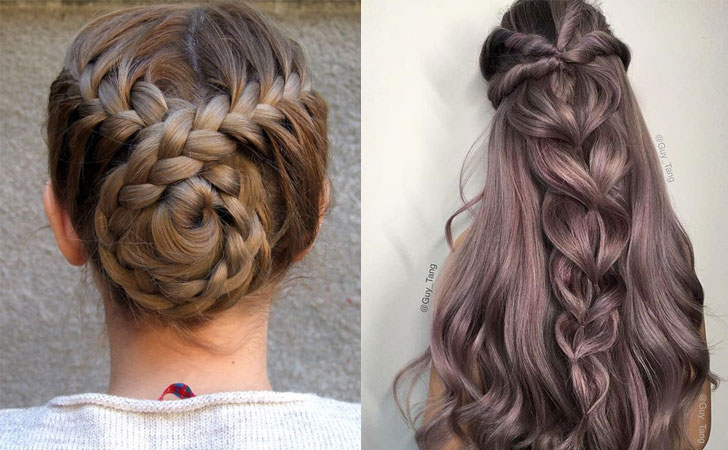 Cute Hair Styles With Braids: 12 Quick And Easy Braided Hairstyles 2019
