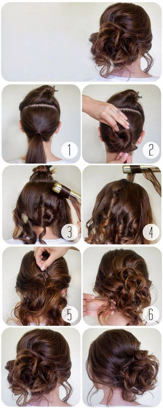 60 Easy Step by Step Hair Tutorials for Long, Medium and ...