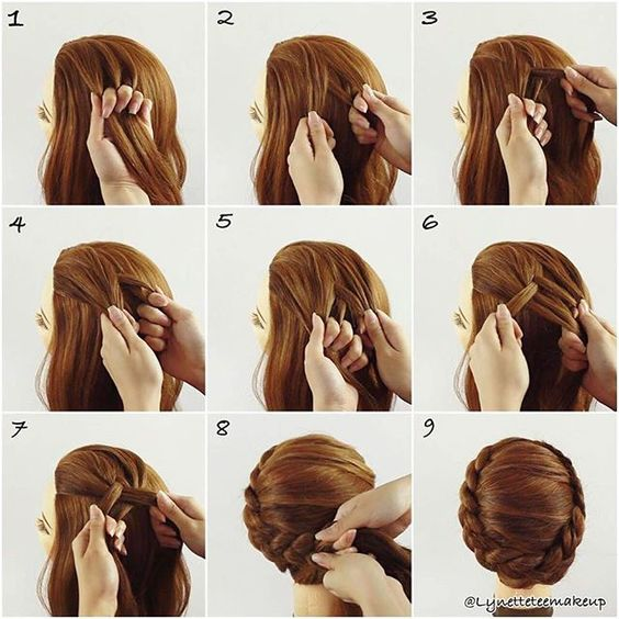 hair plait styles step by step 60 easy step by step hair tutorials for medium and 7730