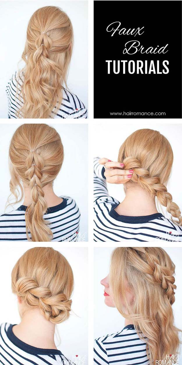 60 Easy Step by Step Hair Tutorials for Long, Medium and Short Hair - Page 34 of 53 - Her Style Code