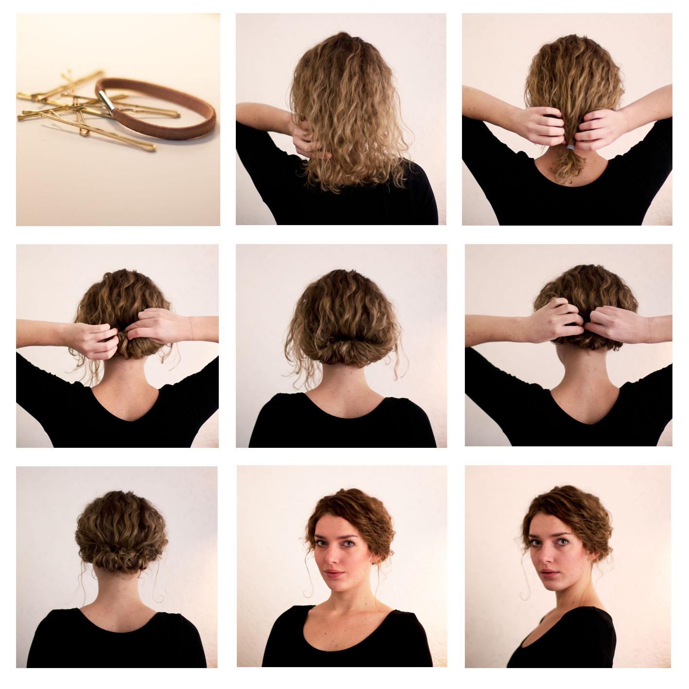 Причёски лёгкие для коротких волос