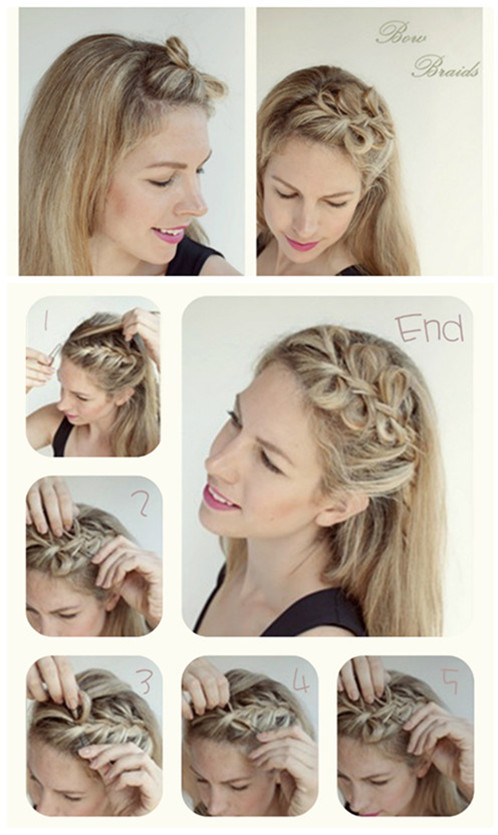 60 Easy Step by Step Hair Tutorials for Long, Medium,Short Hair - Page 9 of 51 - Her Style Code