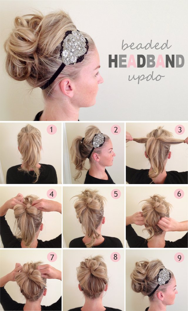 60 easy step by step hair tutorials for long medium and short step by step hair tutorials for medium hair pmusecretfo Choice Image