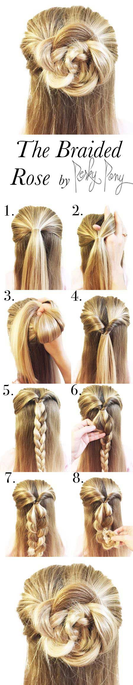 60 easy step by step hair tutorials for long mediumshort