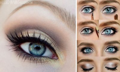 Easy Step-By-Step Makeup Tutorials For Blue Eyes