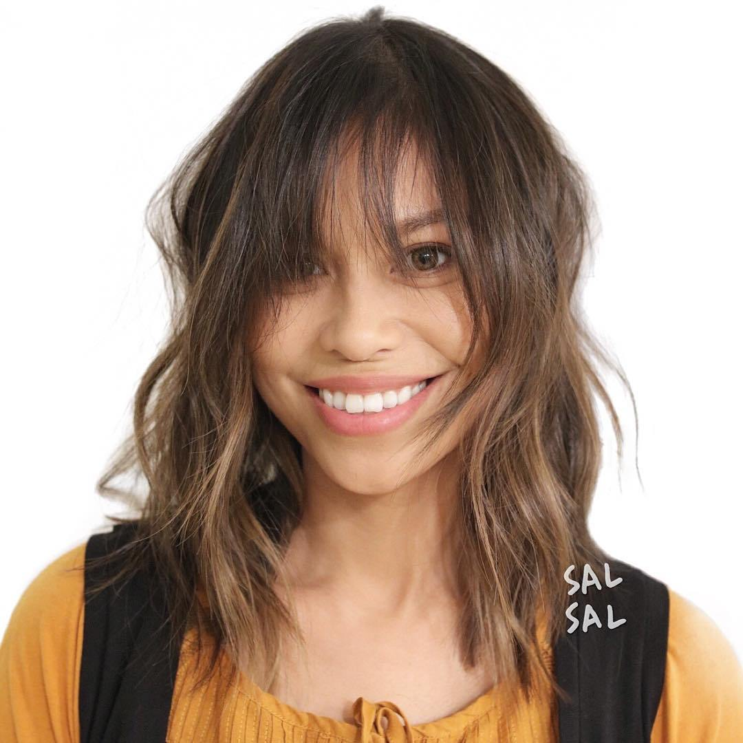 styles for medium hair 36 stunning hairstyles amp haircuts with bangs for 1787