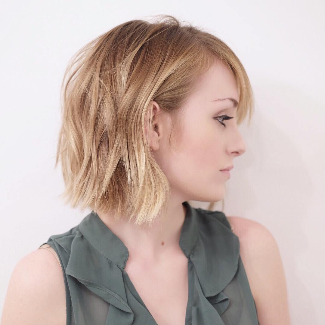 medium hair styled 36 stunning hairstyles amp haircuts with bangs for 2132