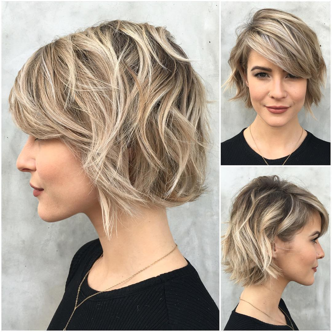 medium cut hair style 36 stunning hairstyles amp haircuts with bangs for 5692