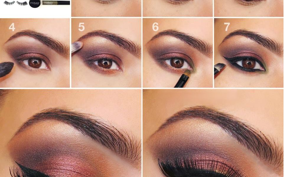 20 Simple Easy Step By Step Eyeshadow Tutorials For