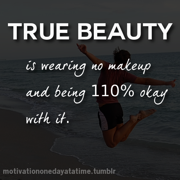 no makeup quotes