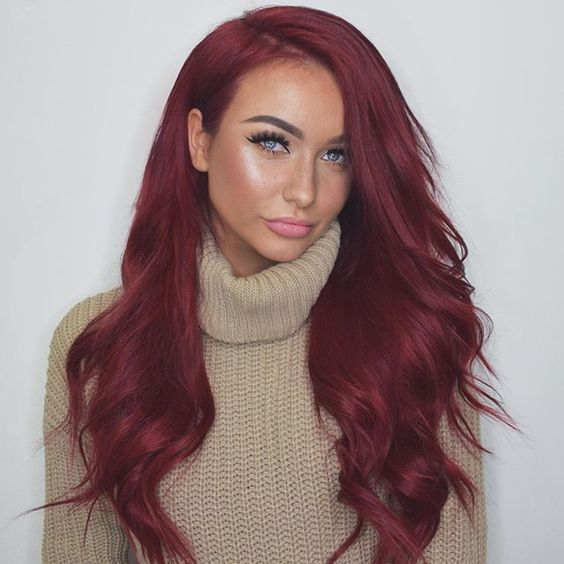 Blonde And Red Hairstyles Blonde Hairstyles With Red Highlights ...