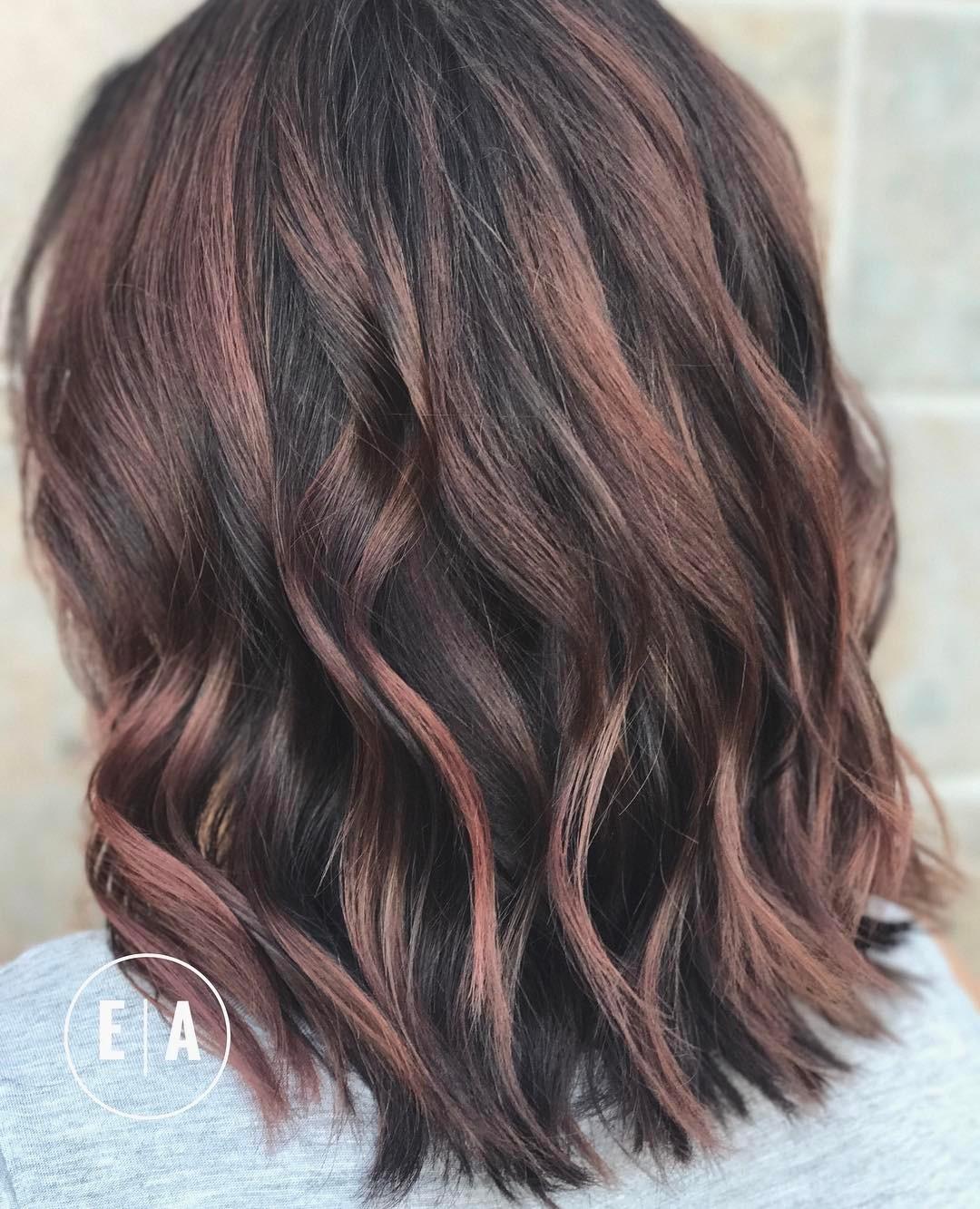 Dark Hair Color Trends 2019: 10 Fabulous Summer Hair Color Ideas 2019