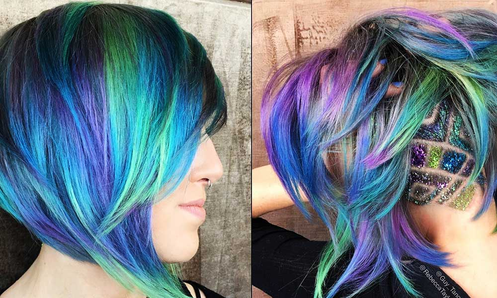 hair color ideas How To Pull Off Colorful Hair At Home
