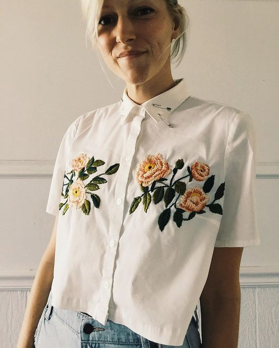 16 Trendy Embroidered Items of Clothing