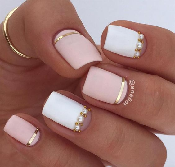 Simple Cuticle Designs For Short Nails