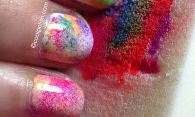 13 Fun Tie Dye Manicures For Free Spirits