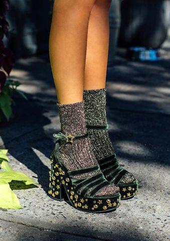 How to Wear Chunky Heels