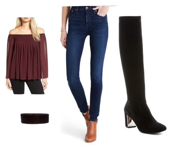 5e6c8a838f3 How to Wear Knee-High Boots with Jeans - Her Style Code