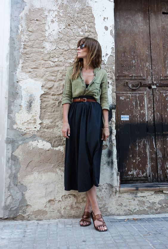 how to wear midi skirts 20 summer fall midi