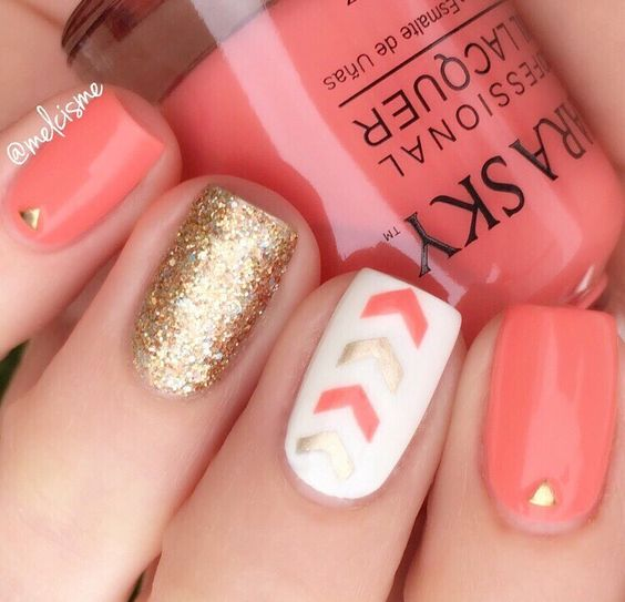 10 easy nail designs you can do at home her style code - Cute nail art designs to do at home ...