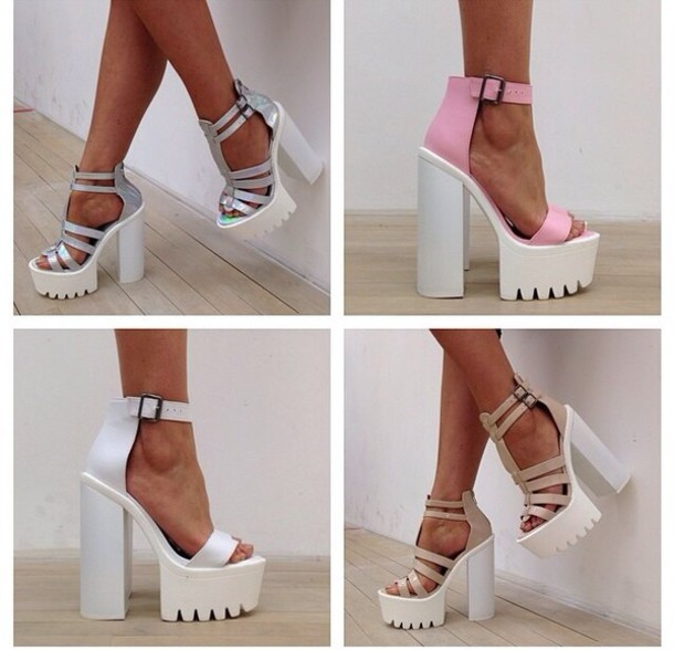How to Wear Chunky Heels - 27 Trendy Stylish Chunky Heel - Her ...