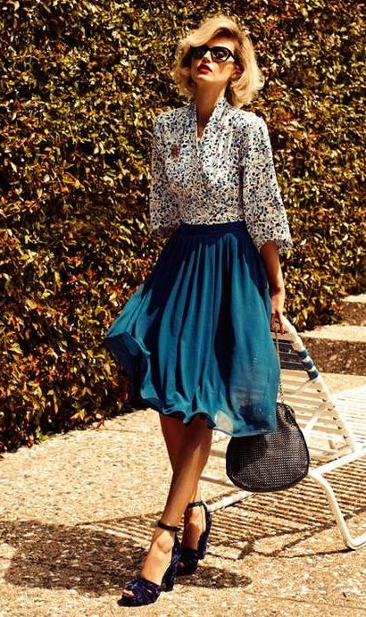How To Wear Midi Skirts 20 Hottest Summer Fall Midi