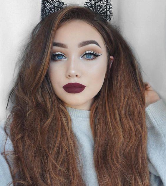 11 Ways to Pull off Dark Lipstick