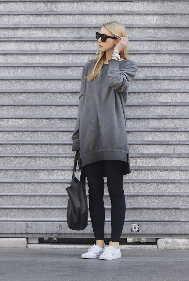 how to make oversized shirts cute
