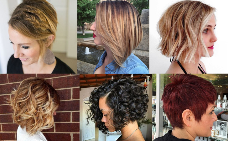 30 Best Short Hairstyles & Haircuts - Bobs, Pixie Cuts, Ombre ...