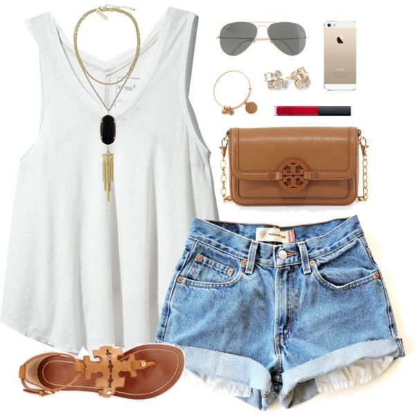 207f0796c730 ... 36 Cute Outfit Ideas for Summer - Summer Outfit Inspiration ...