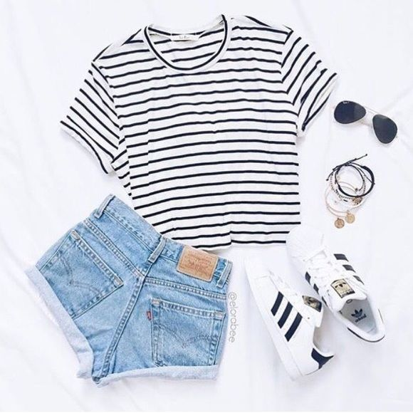 9df957abf4ff ... 36 Cute Outfit Ideas for Summer - Summer Outfit Inspiration ...