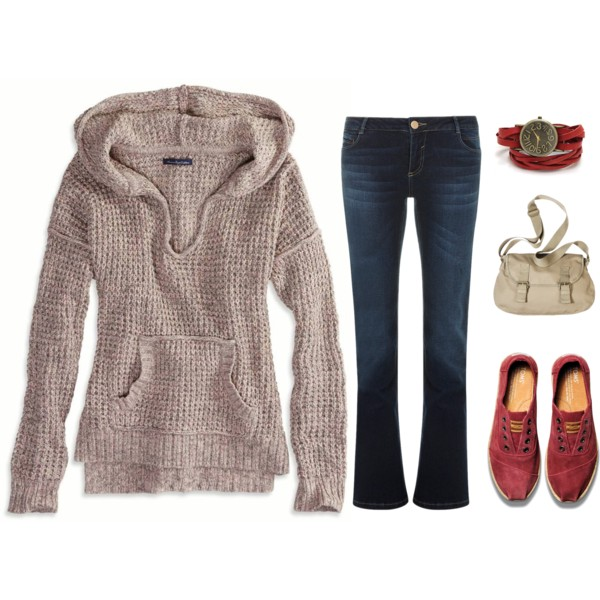 40 Chic Sweater Outfit Ideas For Fall/Winter , Outfits with Sweater