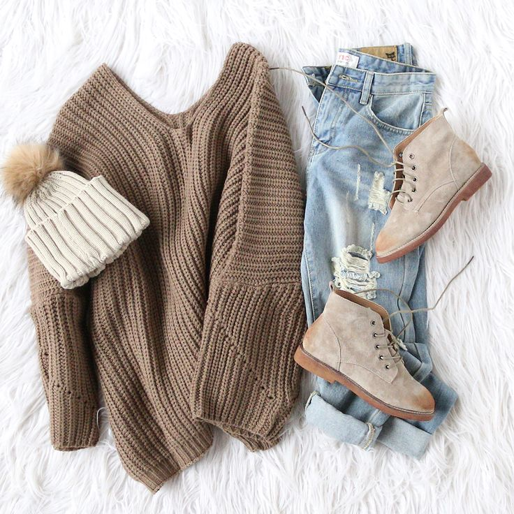 c682b9e3b2 ... 40 Chic Sweater Outfit Ideas For Fall Winter - Outfits with Sweater ...