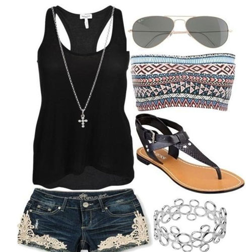 e7ff3267ec6 30 Cute Outfit Ideas for Teen Girls 2019 - Teenage Outfits for ...