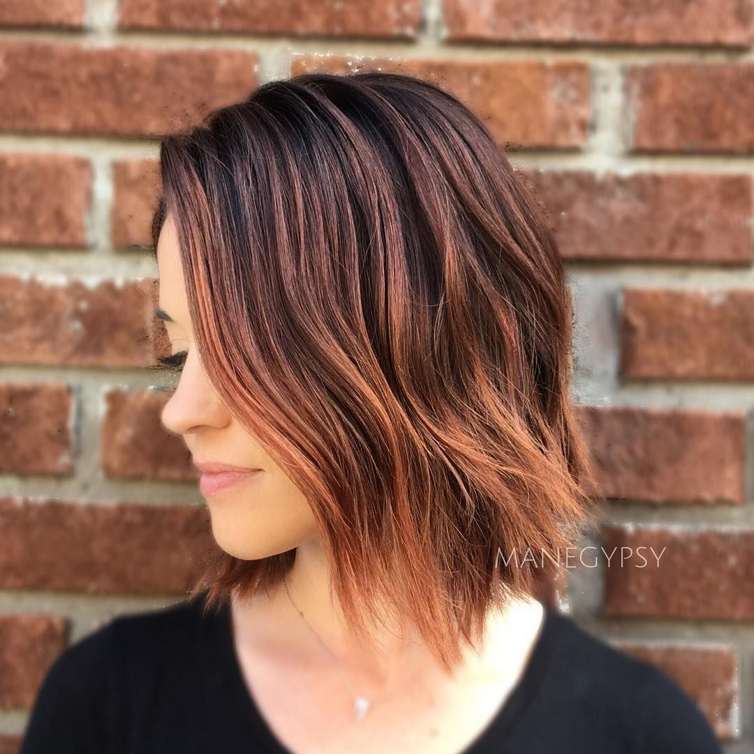30 Stunning Balayage Hair Color Ideas For Short Hair 2020