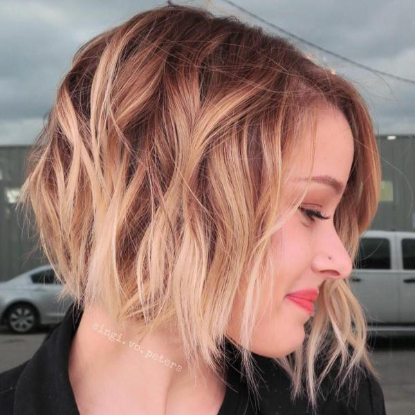 30 Stunning Balayage Hair Color Ideas For Short Hair Her