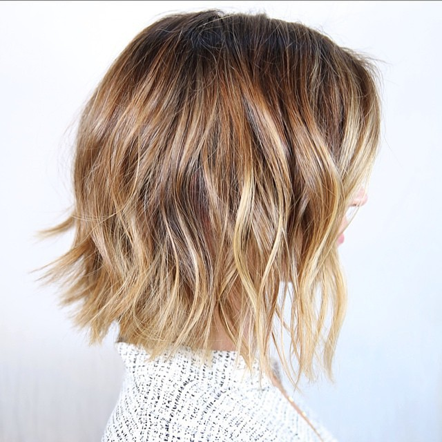 30 Stunning Balayage Short Hairstyles 2019 Hot Hair Color Ideas