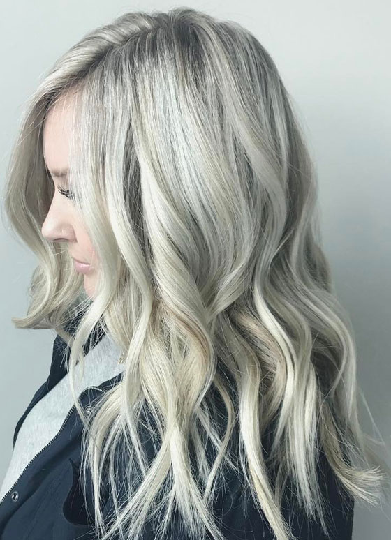45 Adorable Ash Blonde Hairstyles - Stylish Blonde Hair Color Shades ...