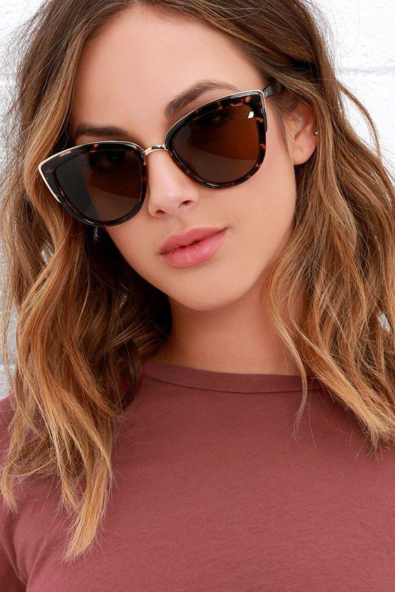 Quay My Girl Tortoise Sunglasses at Lulus.com!