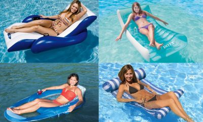 Best Swimming Pool Loungers – Great Pool Float Chairs Top 10 Best Swimming Pool Loungers - Best Floating Pool Chairs