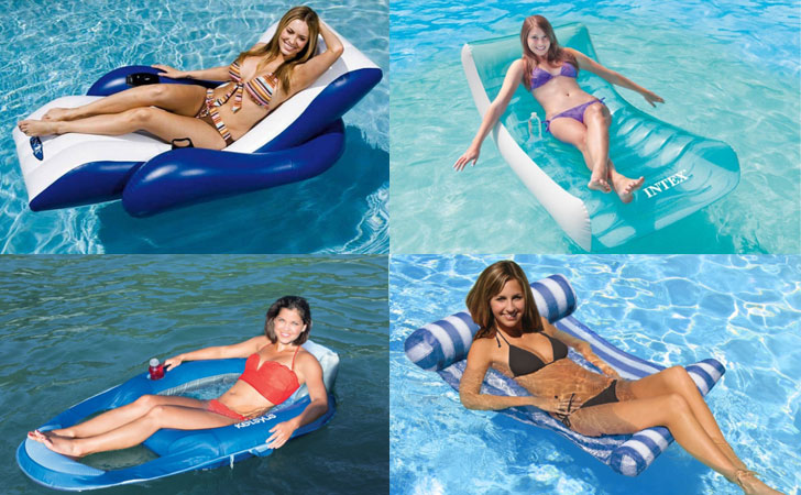 10 Best Swimming Pool Loungers 2019 - Top Floating Pool loungers chairs