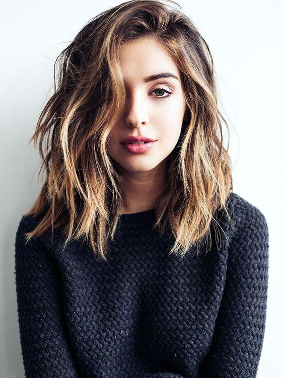 unique medium hairstyles