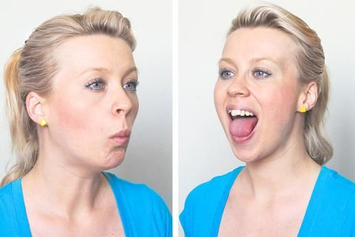 Image result for Jaw Release  yoga