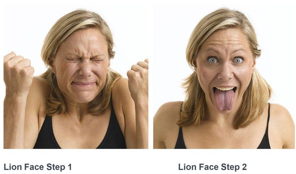 Image Result For Lion Face Yoga